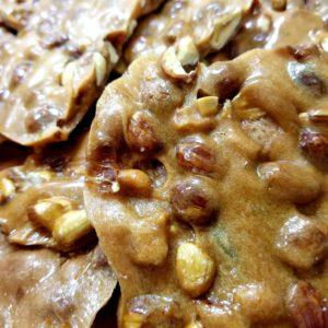 Peanut brittle, a buttery,crunchy, nutty goodness